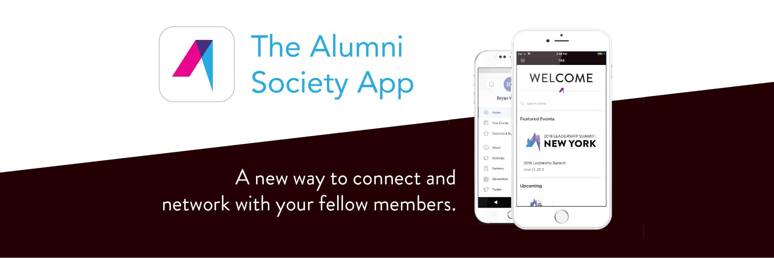 The Alumni Society App - The Alumni Society