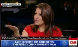 Patti Solis Doyle on CNN
