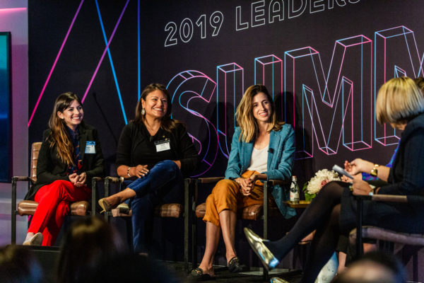 Power in Numbers, Latina Entrepreneurs panel at 2019 Alumni Society Leadership Summit