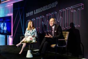 2019 Leadership Summit_Eva Hughes and Robert Chavez