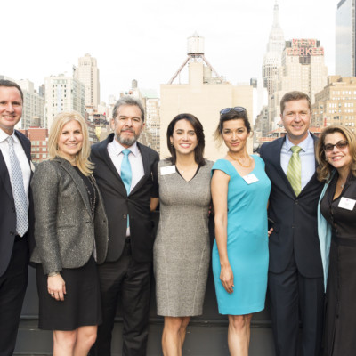 Rooftop Reception at the Hudson Mercantile